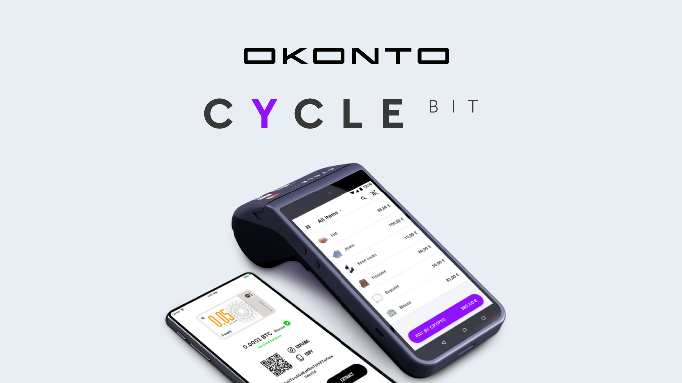 OKONTO announces partnership with Cyclebit payment operator